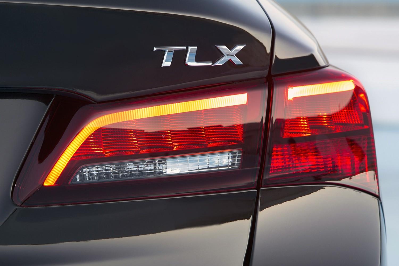 2015 Acura TLX Sedan Rear Badge