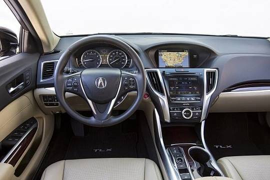 2015 TLX - First Row