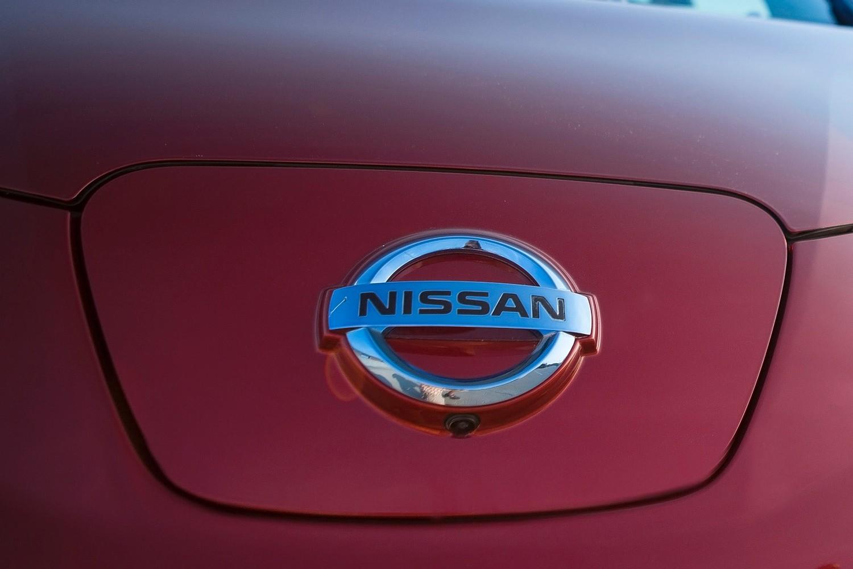 Nissan Leaf SL 4dr Hatchback Front Badge (2014 model year shown)