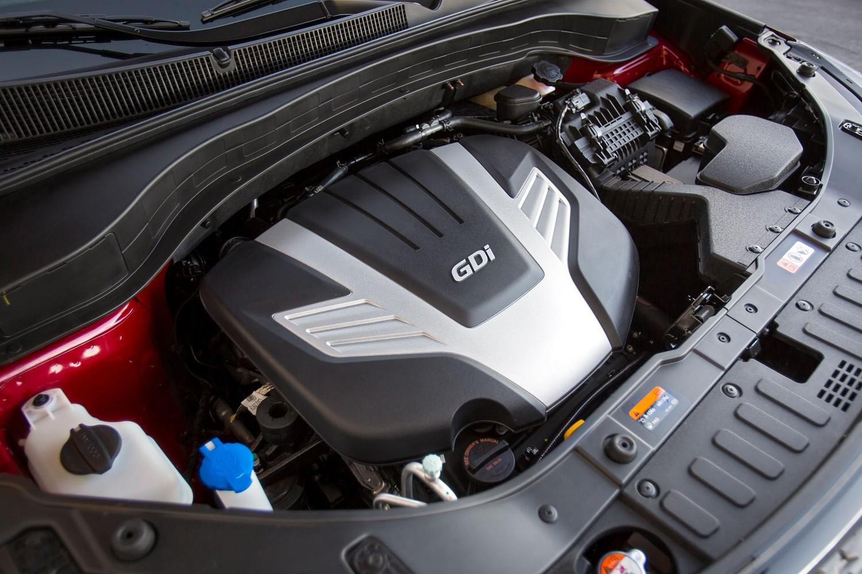 2015 Kia Sorento SX 4dr SUV 3.3L V6 Engine Shown