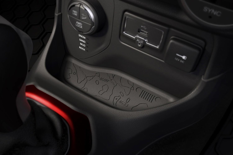2015 Jeep Renegade Latitude 4dr SUV Center Console