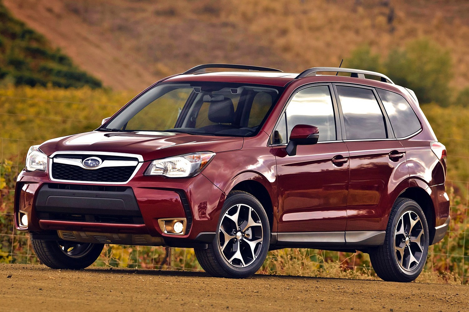 2015 Subaru Forester 2.0XT Touring 4dr SUV Exterior Shown