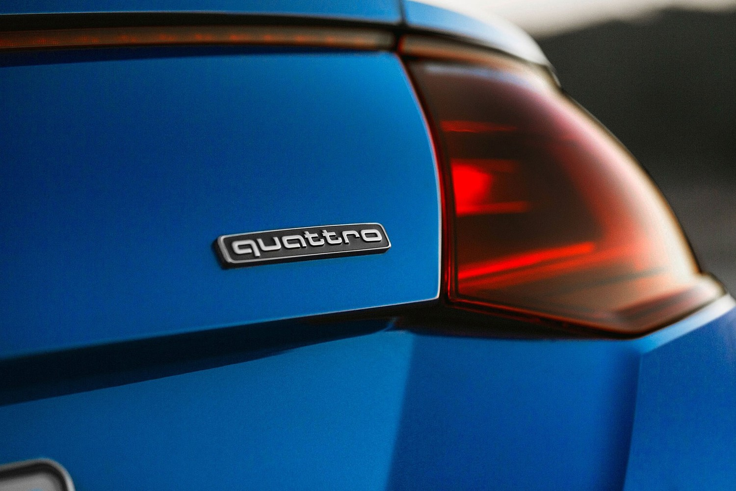 Audi TT 2.0T quattro Coupe Rear Badge (2016 model year shown)