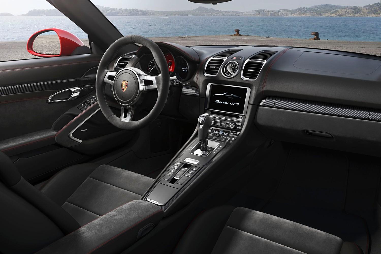 Porsche Boxster GTS Convertible Interior (2014 model year shown)