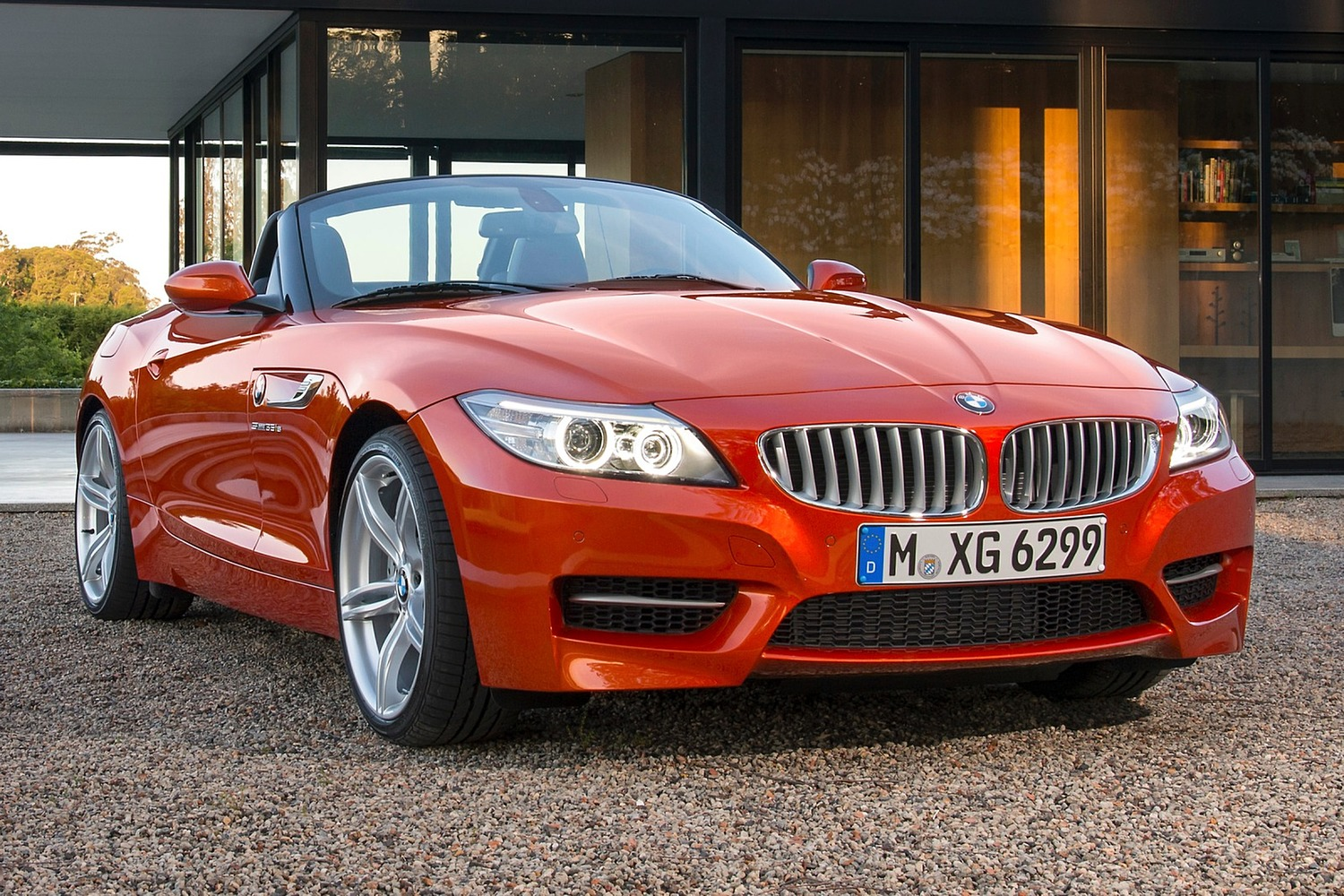 2015 BMW Z4 sDrive35is Convertible Exterior