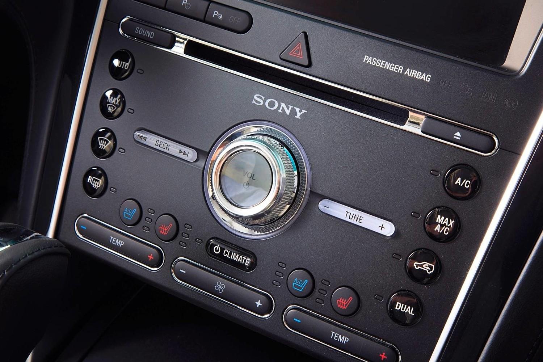 2016 Ford Explorer Platinum Center Console