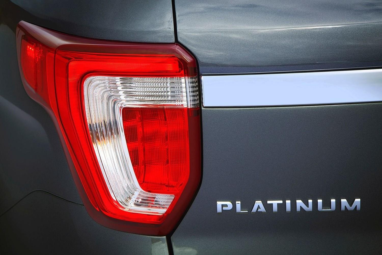 2016 Ford Explorer Platinum Rear Badge