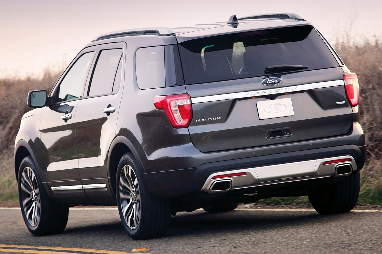 2016 Ford Explorer Platinum Exterior
