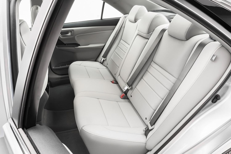 Toyota Camry Sedan XLE Rear Interior (2015 model year shown)