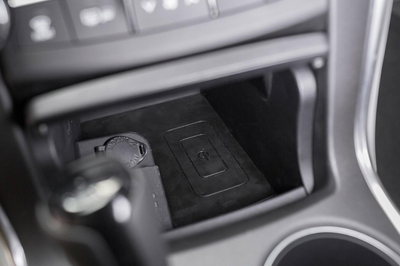 Toyota Camry Sedan XLE Center Console (2015 model year shown)