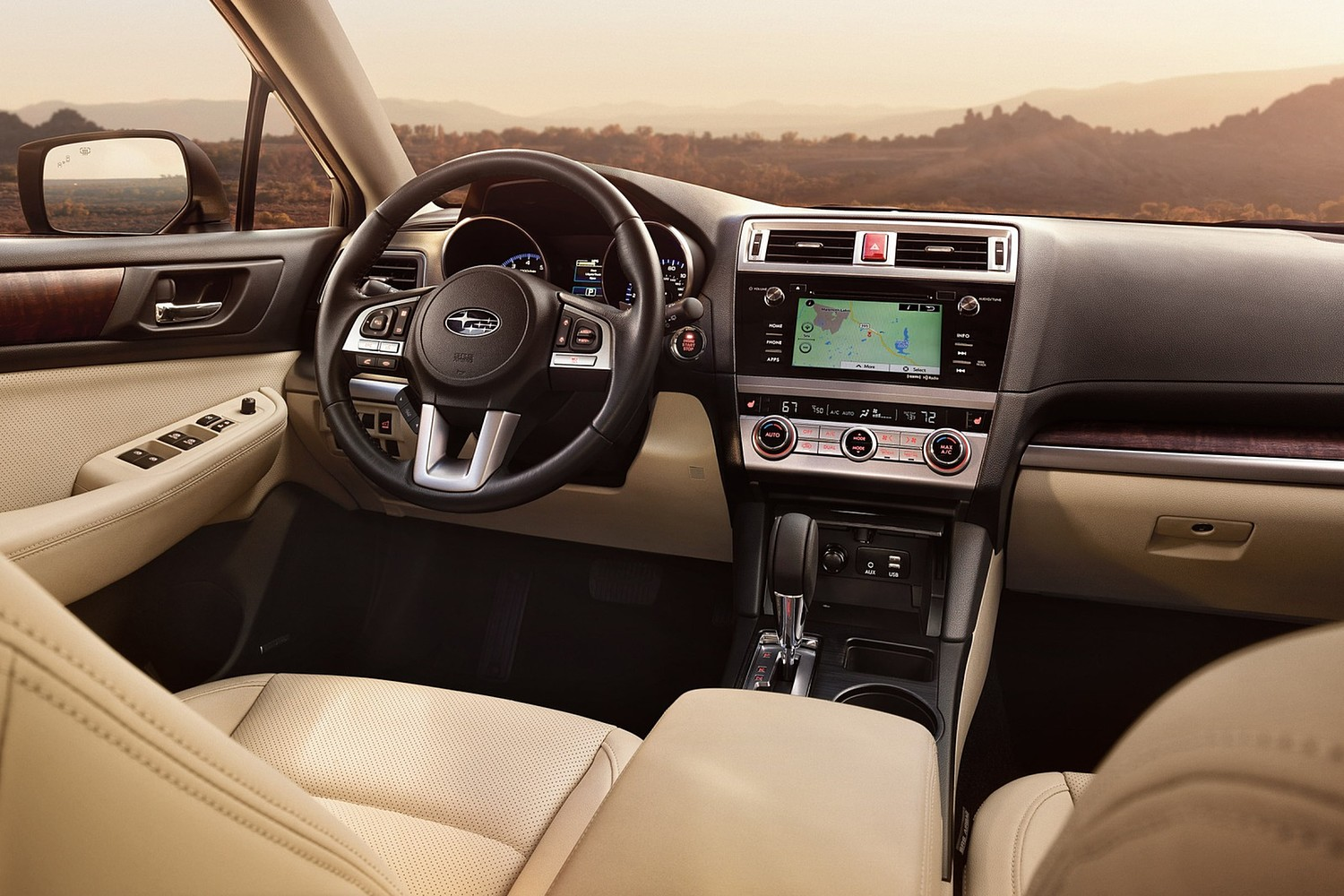 2015 Subaru Outback 3.6R Limited Wagon Interior