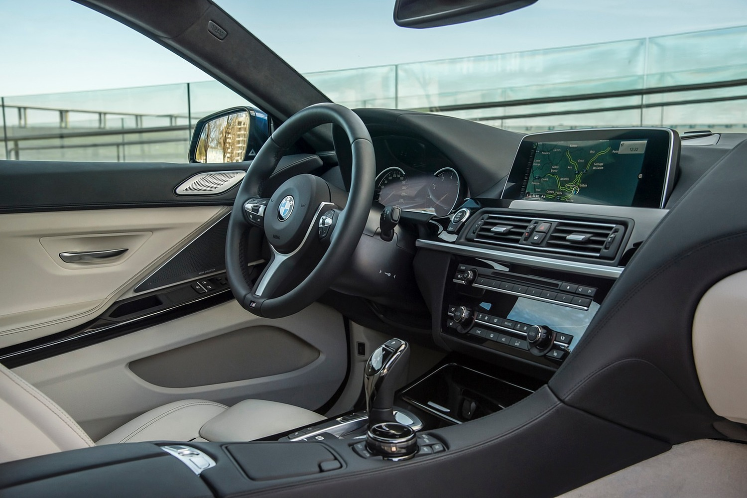 BMW 6 Series 650i Coupe Interior 2015 Model Year Shown