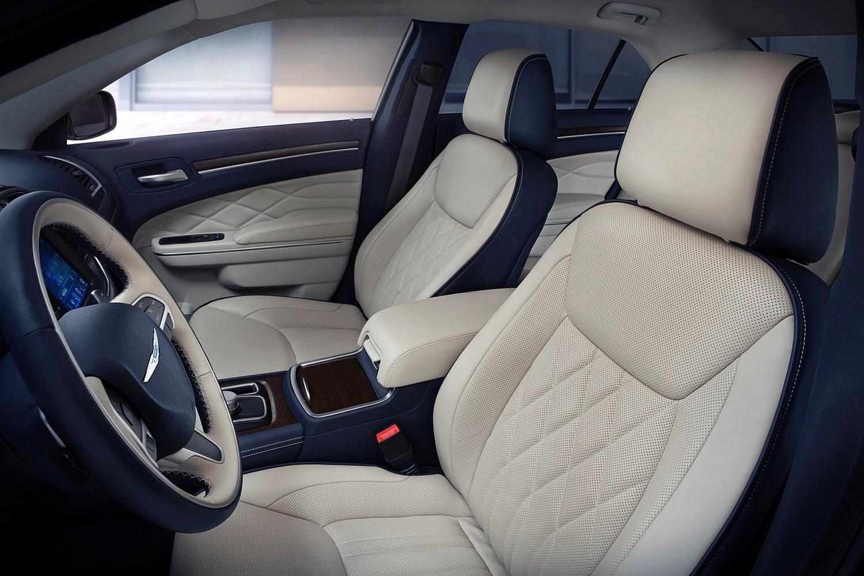 Chrysler 300 C Platinum Sedan Interior (2015 model year shown)