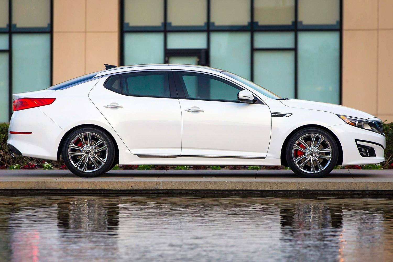 2015 Kia Optima SXL Turbo Sedan Exterior