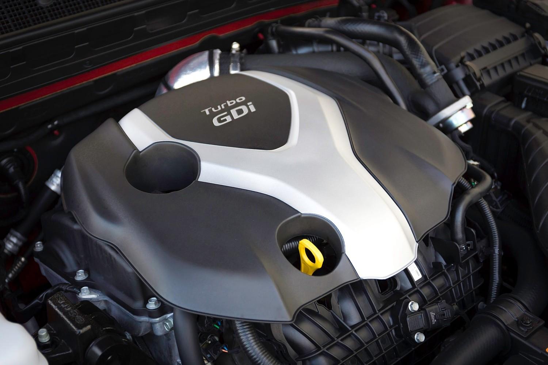 2015 Kia Optima Sedan 2.0L I4 Turbocharged Engine