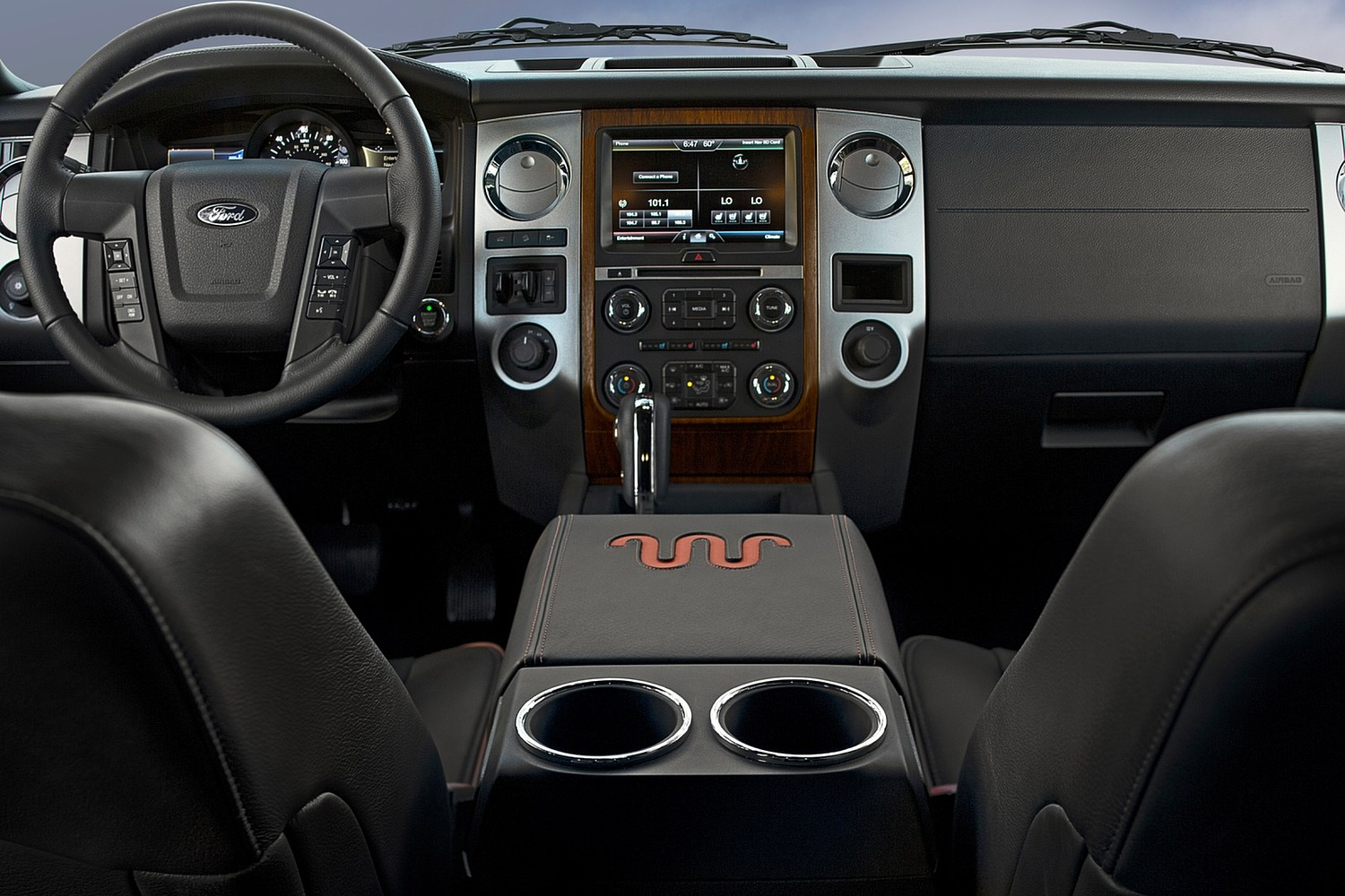 Ford Expedition King Ranch 4dr SUV Dashboard Shown (2015 model year shown)