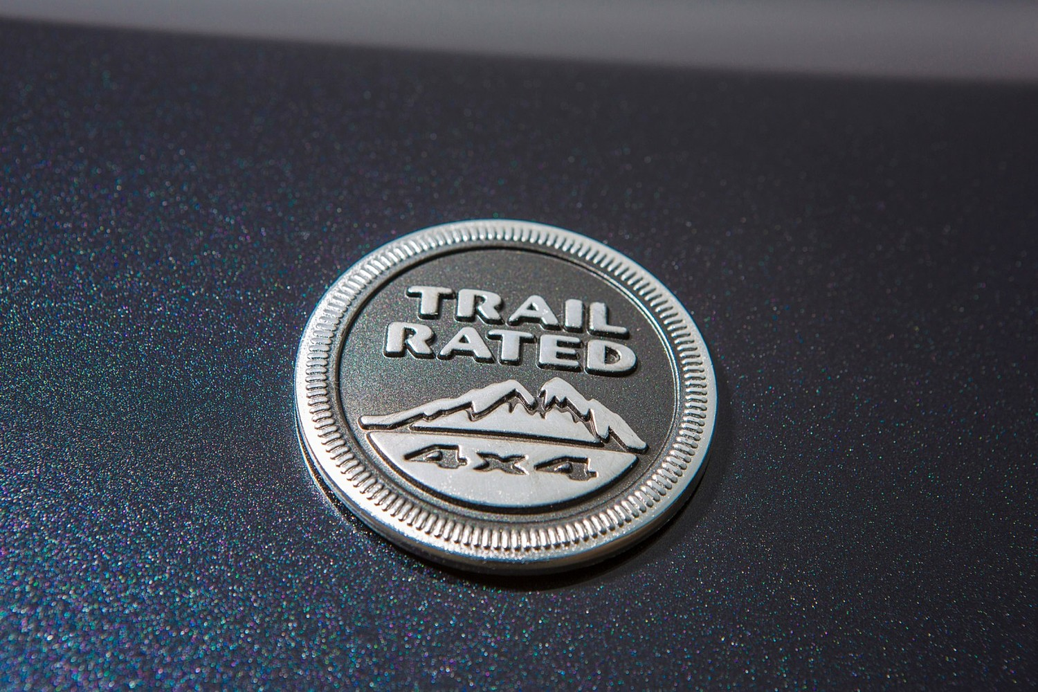 Jeep Grand Cherokee Limited 4dr SUV Fender Badge (2015 model year shown)