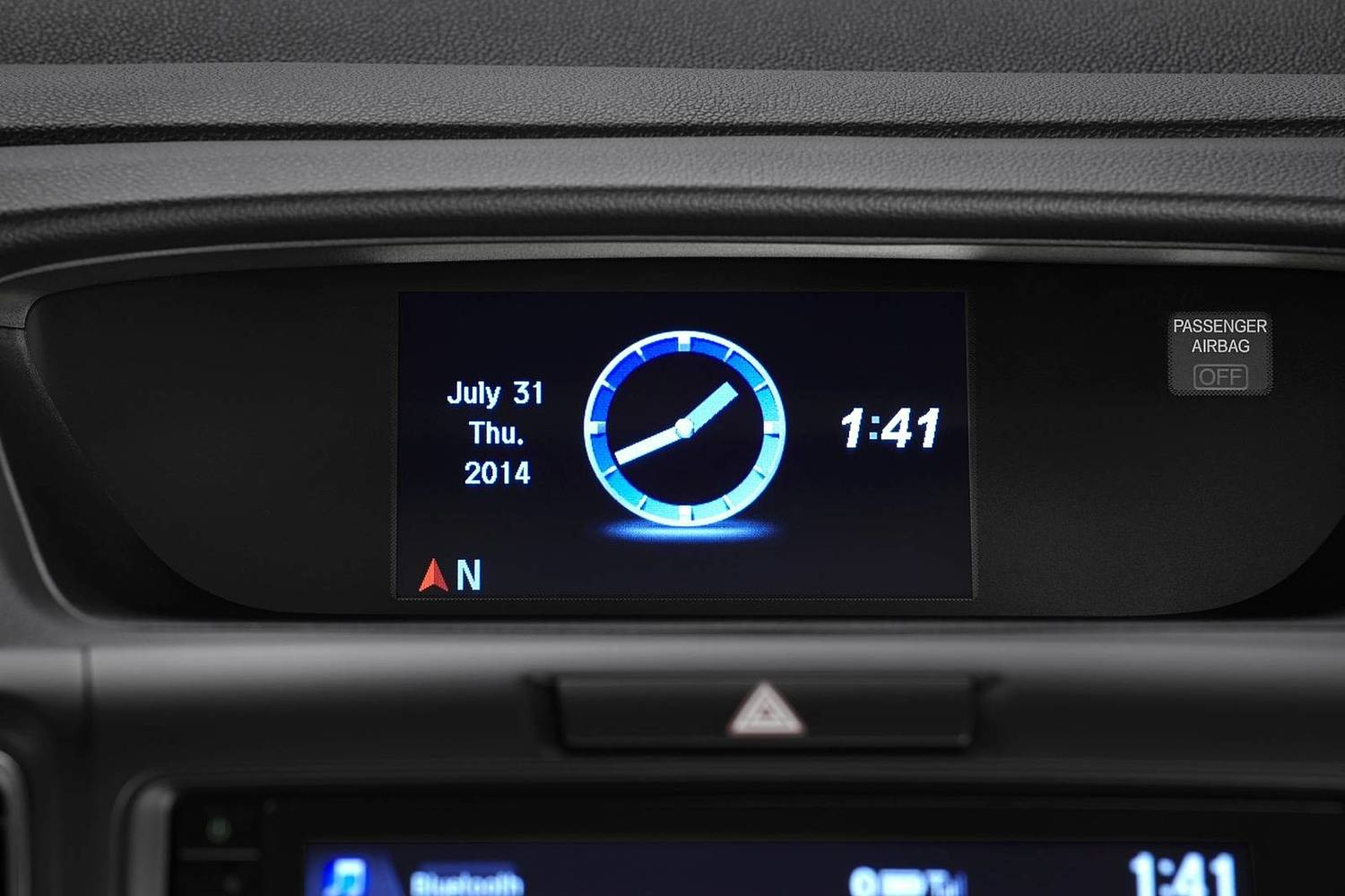 Honda CR-V Touring 4dr SUV Center Console (2015 model year shown)