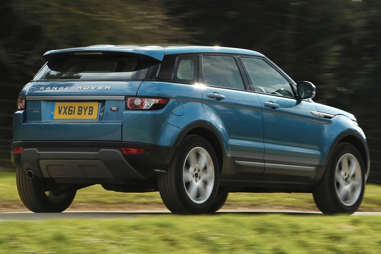 2015 Land Rover Range Rover Evoque Pure 4dr SUV Exterior