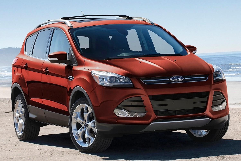 2015 Ford Escape Titanium 4dr SUV Exterior