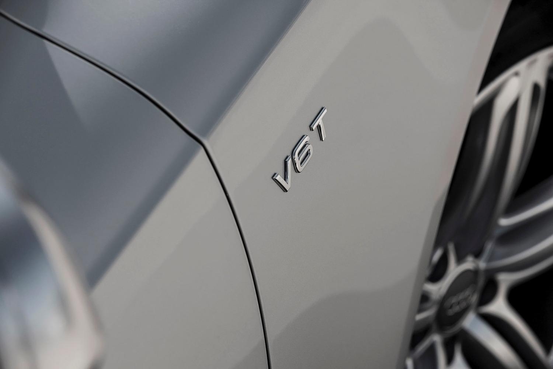 Audi S5 Convertible Prestige quattro Fender Badge (2015 model year shown)