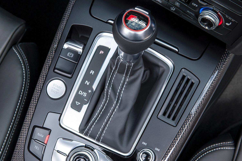 Audi S5 Convertible Prestige quattro Shifter (2015 model year shown)