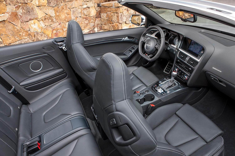 Audi S5 Convertible Prestige quattro Interior (2015 model year shown)