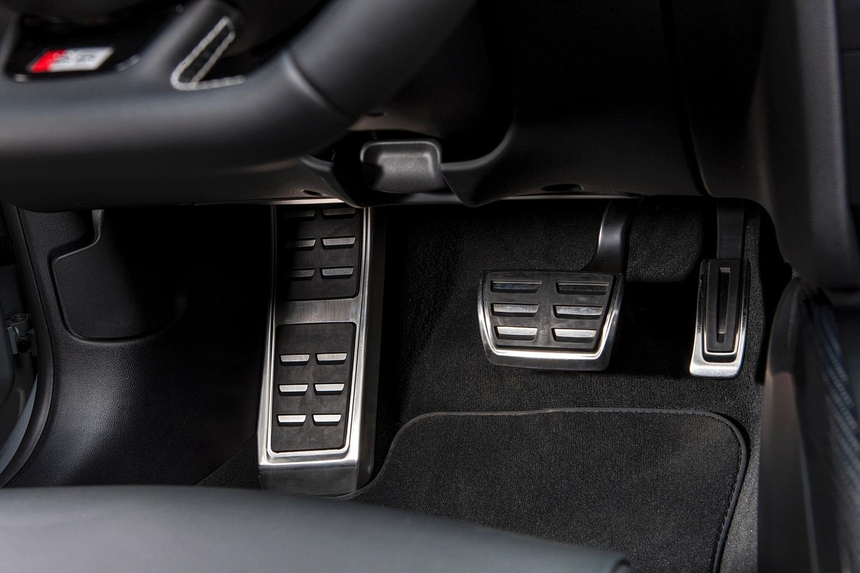 Audi S5 Convertible Prestige quattro Alloy Pedal Detail (2015 model year shown)
