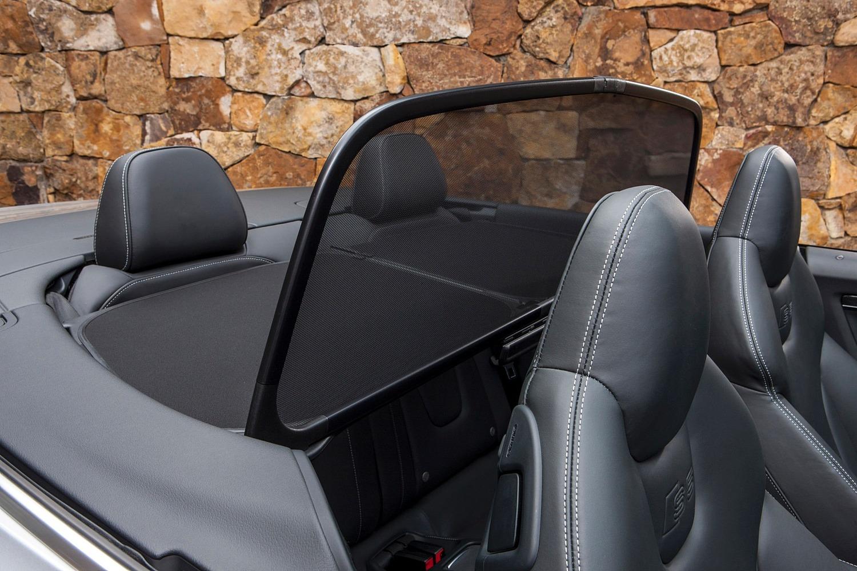 Audi S5 Convertible Prestige quattro Interior Detail (2015 model year shown)