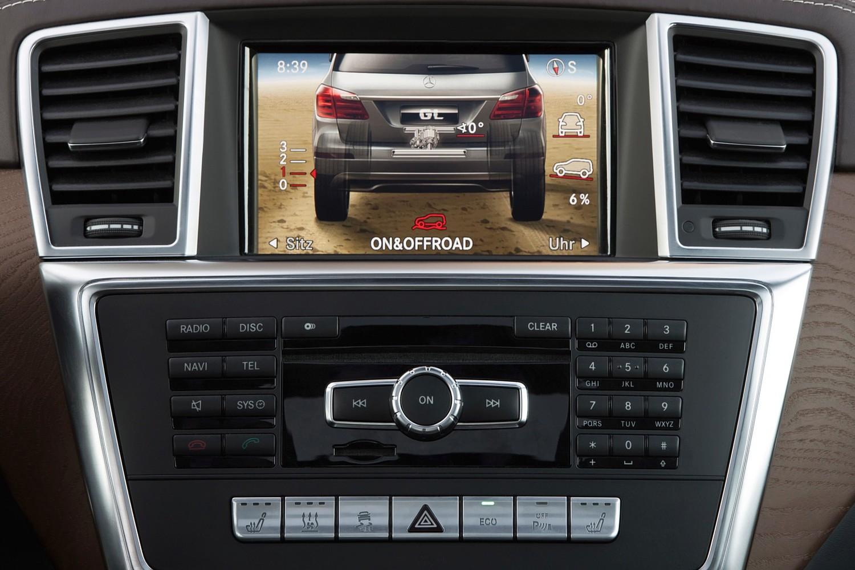 Mercedes-Benz GL-Class GL350 BlueTEC 4MATIC 4dr SUV Navigation System (2015 model year shown)