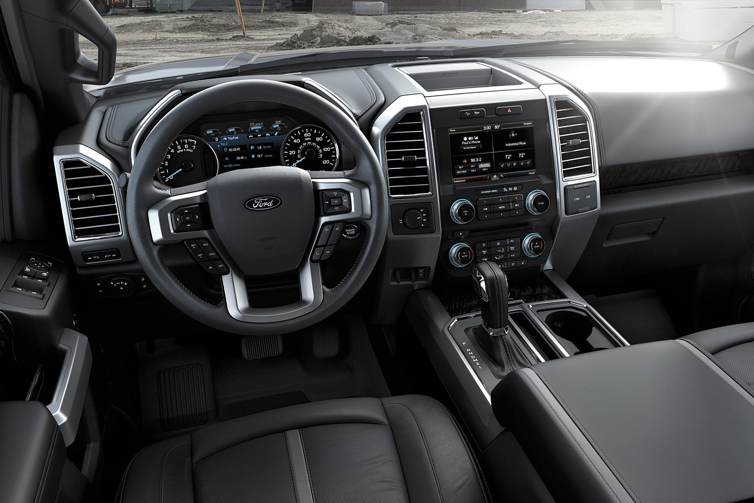 2015 Ford F-150 XLT Crew Cab Pickup Interior