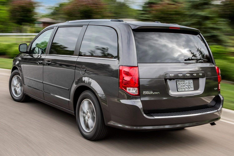 2015 Dodge Grand Caravan SXT Plus Minivan Exterior