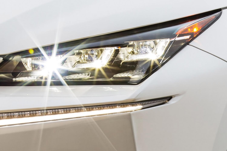 Lexus NX 200t F SPORT 4dr SUV Headlamp Detail (2015 model year shown)