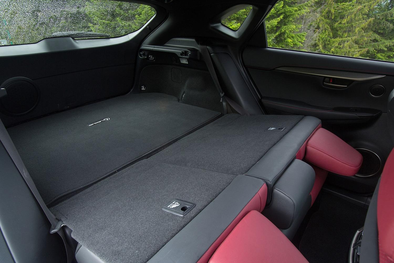 Lexus NX 200t F SPORT 4dr SUV Interior (2015 model year shown)