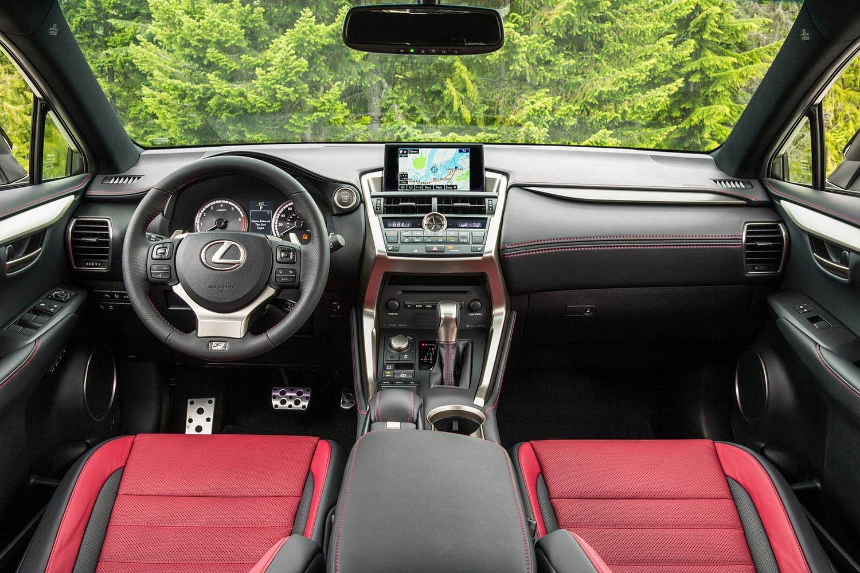 Lexus NX 200t F SPORT 4dr SUV Dashboard (2015 model year shown)
