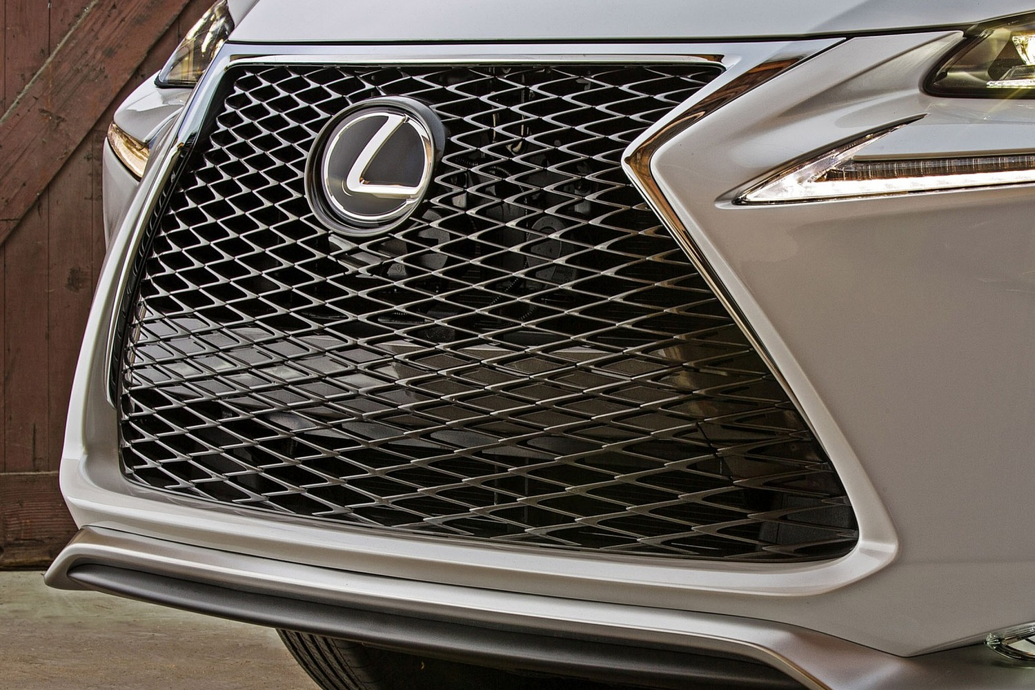 Lexus NX 200t F SPORT 4dr SUV Front Badge (2015 model year shown)