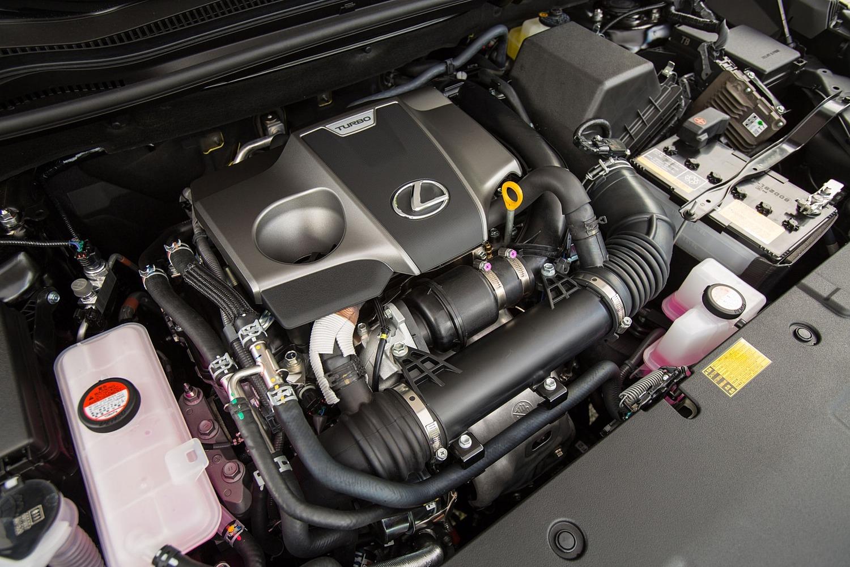 Lexus NX 200t F SPORT 4dr SUV 2.0L I4 Turbo Engine (2015 model year shown)