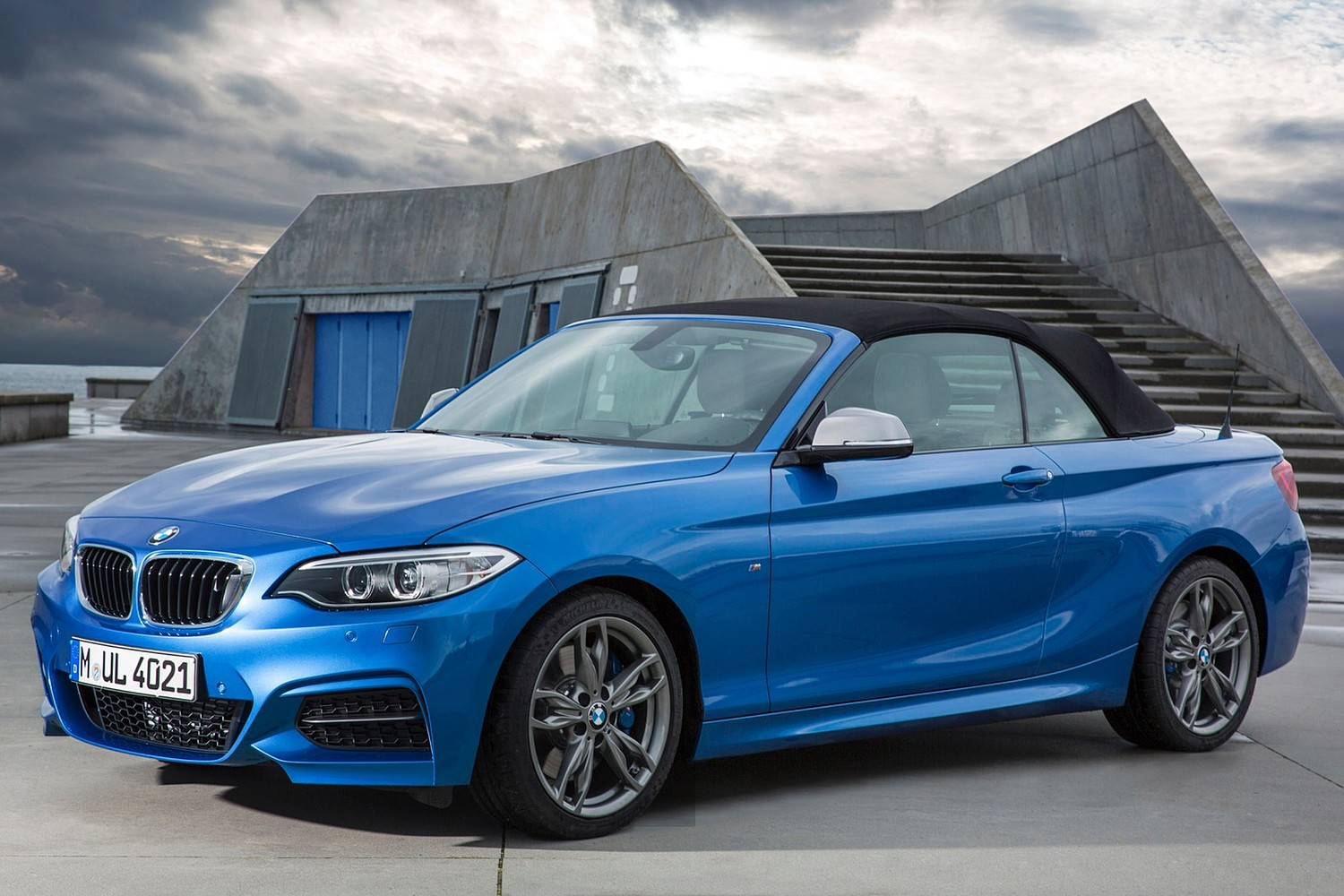 BMW 2 Series M235i Convertible Exterior (2015 model year shown)