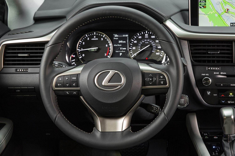 2016 Lexus RX 350 4dr SUV Steering Wheel Detail