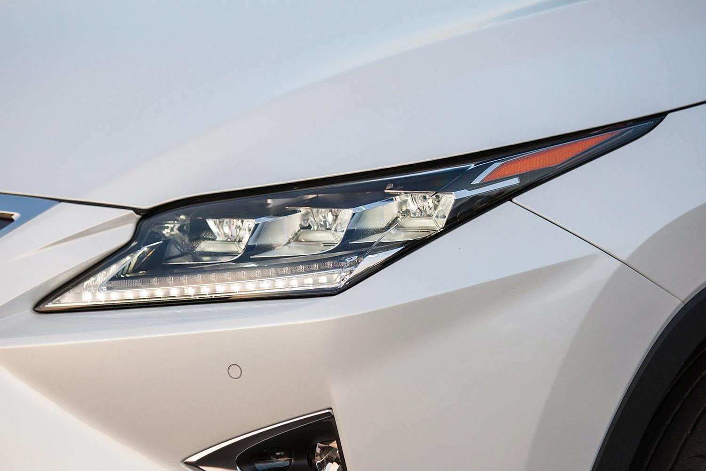 2016 Lexus RX 350 4dr SUV Headlamp Detail