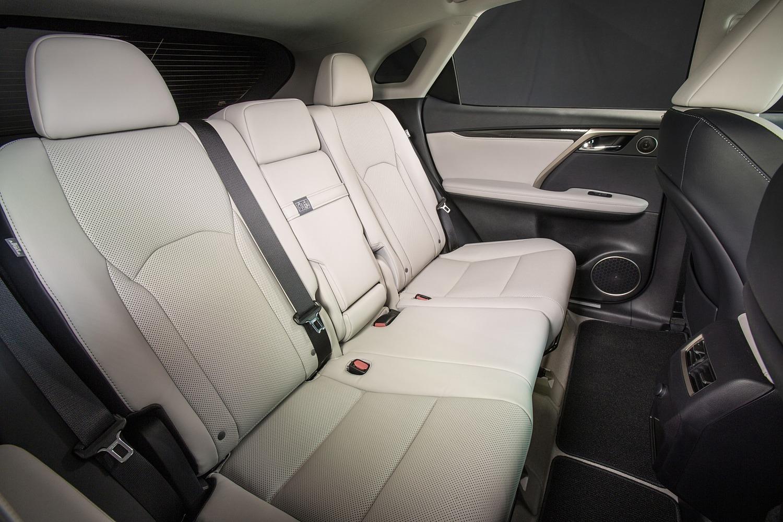 2016 Lexus RX 350 4dr SUV Rear Interior