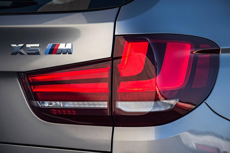 BMW X5 M 4dr SUV Rear Badge (2015 model year shown)