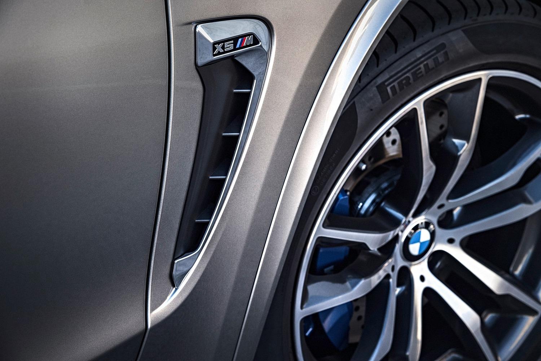 BMW X5 M 4dr SUV Wheel (2015 model year shown)