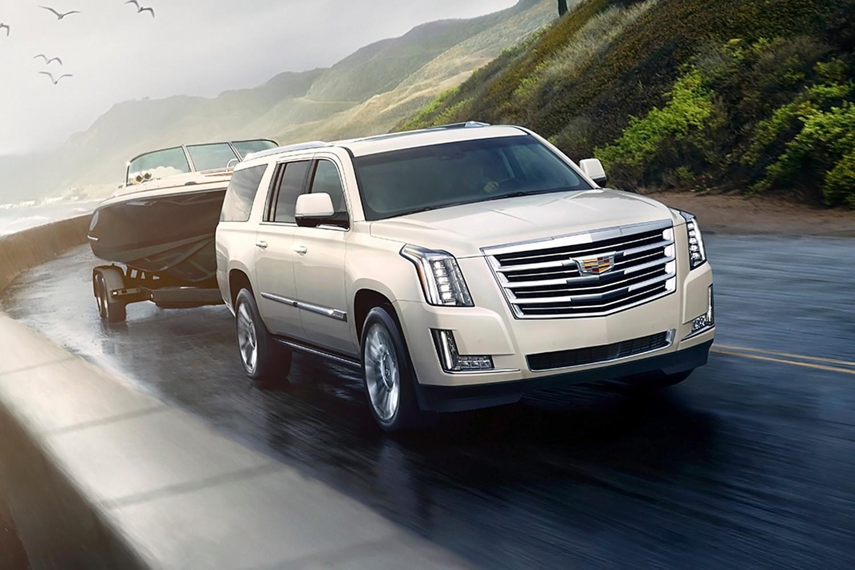2015 Cadillac Escalade Platinum 4dr SUV Exterior