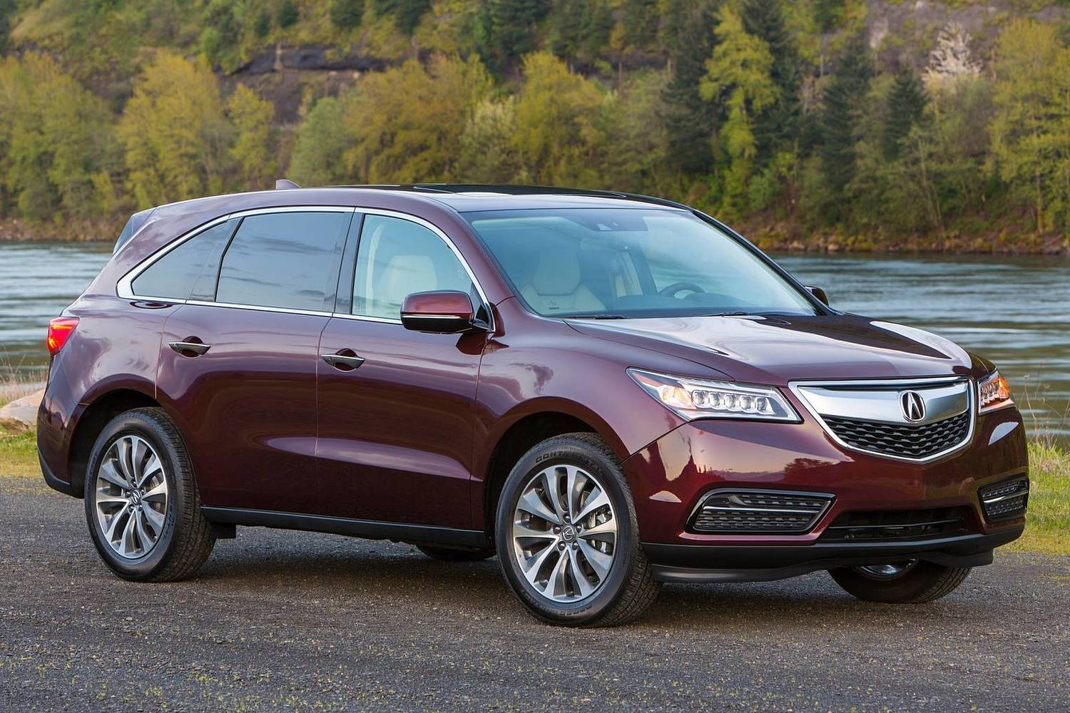2016 Acura MDX Technology, Entertainment and AcuraWatch Plus Packages 4dr SUV Exterior Shown