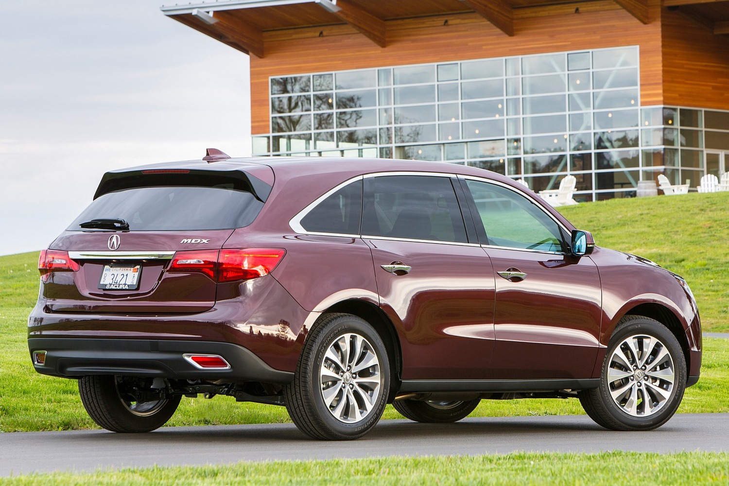 2016 Acura MDX Technology, Entertainment and AcuraWatch Plus Packages 4dr SUV Exterior