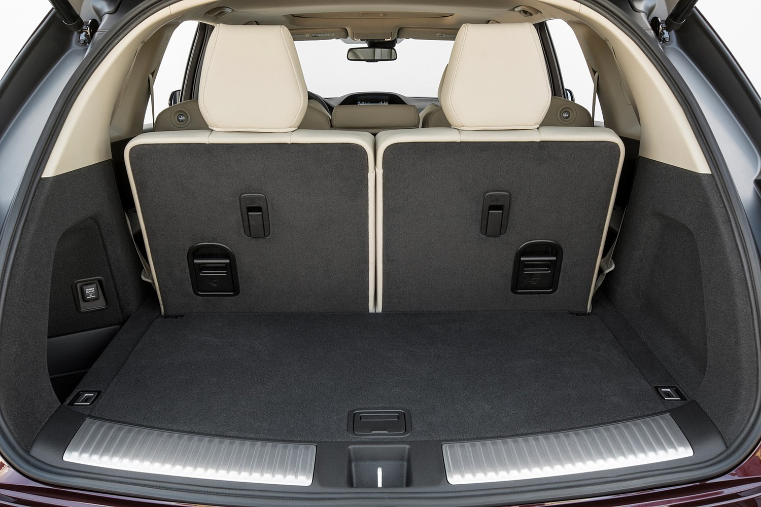 2016 Acura MDX Technology, Entertainment and AcuraWatch Plus Packages 4dr SUV Cargo Area