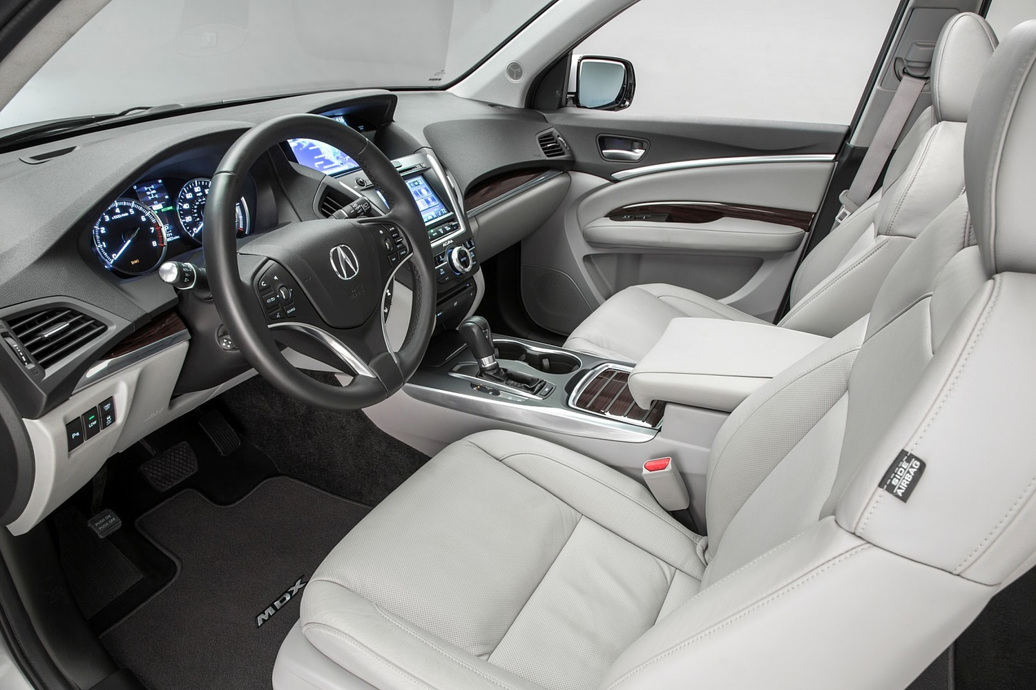 2016 Acura MDX SH-AWD w/Technology, Entertainment and AcuraWatch Plus Packages 4dr SUV Interior Shown