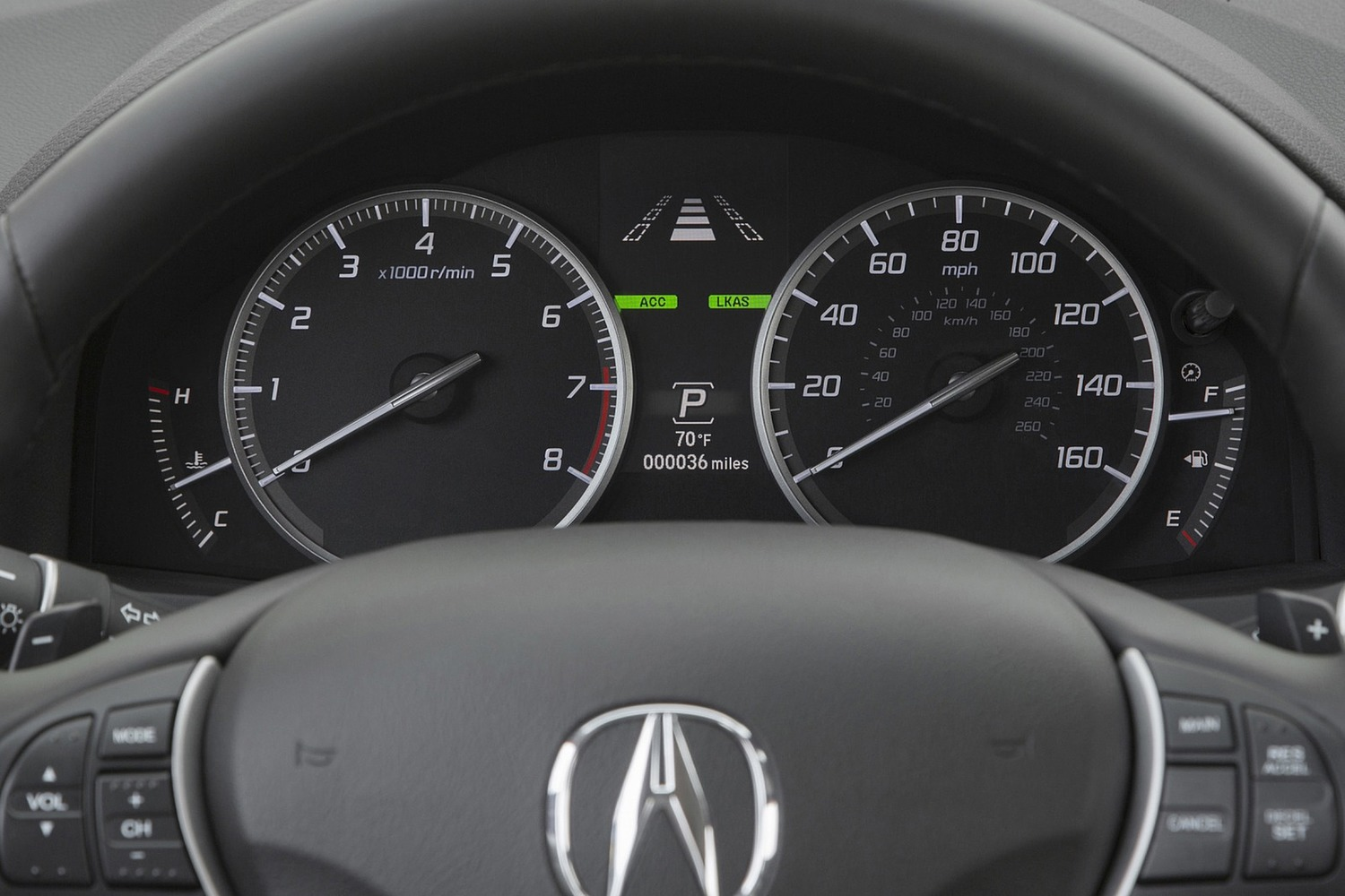 2016 Acura RDX Advance Package 4dr SUV Gauge Cluster