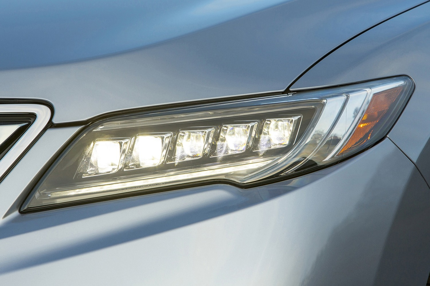 2016 Acura RDX Advance Package 4dr SUV Exterior Headlamp Detail